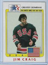 AWESOME 1983 OLYMPIC JIM CRAIG 1980 GOLD HOCKEY CARD #33 ~ MULTIPLES AVAILABLE