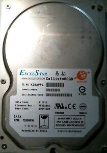 NEW DRIVERS: EXCELSTOR J880S