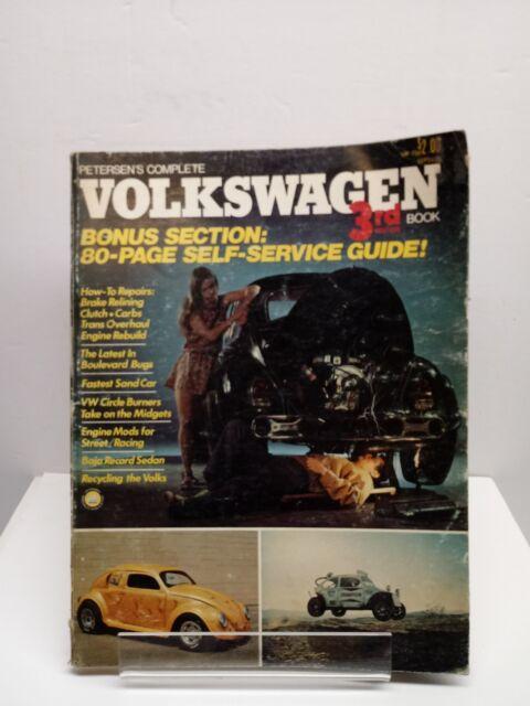 1973 Peterson U0026 39 S Complete Volkswagen 3rd Edition Book