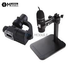 Usb 1000x Digital Microscope 2mp 8 Led Endoscope 90x Magnifier Cameralift Stand
