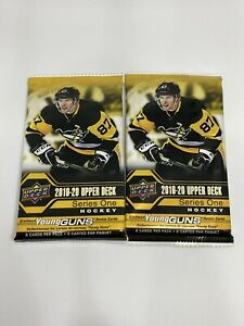 2019-20-UD-Upper-Deck-Series-1-NHL-Hockey-YOUNG-GUNS-Rookie-RC-2-Packs