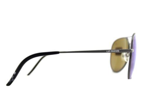 128cc5cf340 4 of 9 POLARIZED New SERENGETI PANAREA Le Mans 24h Satin Dark Gunmetal Sunglasses  8486