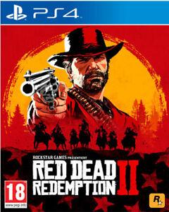 Red-Dead-Redemption-2-PS4-NEU-OVP-UNCUT-Blitzversand