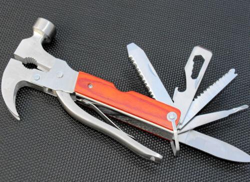 Multi Tool Nothammer Multifunktionswerkzeug Zange Notfall Hammer Taschenmesser