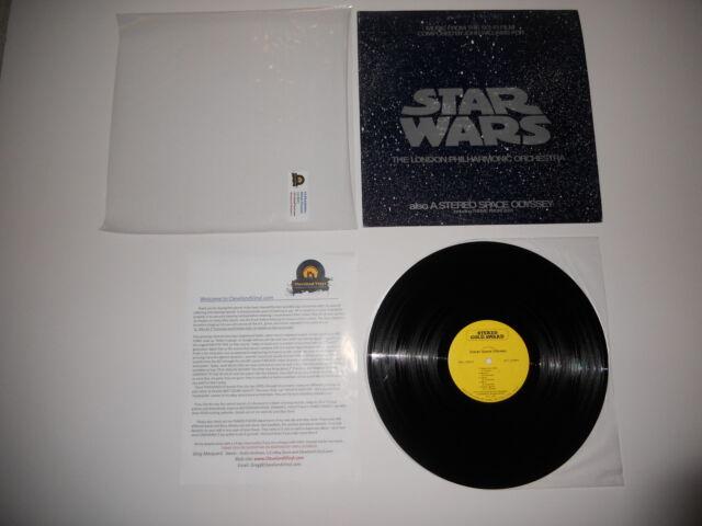 Star Wars London Philharmonic 2001 Space 1st '77 EXC Press Ultrasonic CLEAN