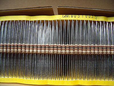 Yageo 100x Metallfilm-Widerstand  820 kOhm 1/% Bauform 0204 axial von Vitrohm