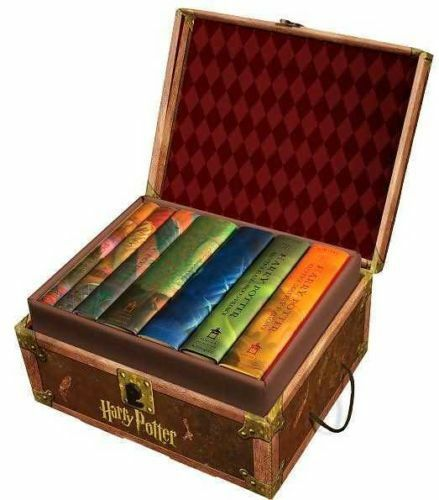 Harry Potter Hard Cover Boxed Set: Books #1-7 (2007, Hardcover, Box Set) NEW