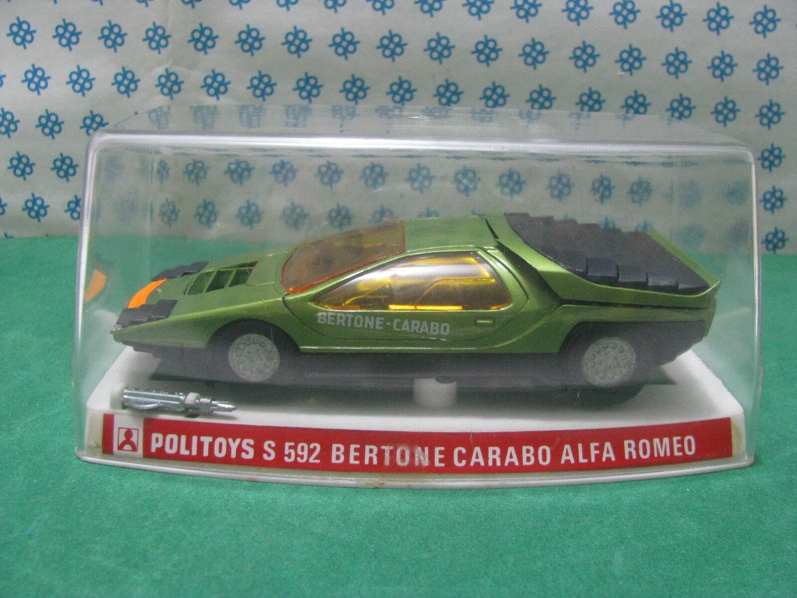 Vintage - ALFA ROMEO CARABO ERTONE - 1 25 Politoys-S 592