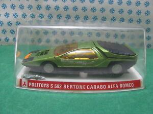 Vintage-ALFA-ROMEO-CARABO-BERTONE-1-25-Politoys-S-592