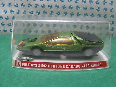Disciplinato Vintage - Alfa Romeo Carabo Bertone - 1/25 Politoys-s 592