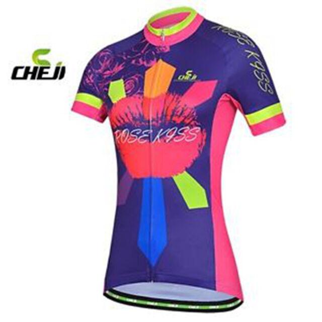 Women's sportwear Cycling Clothing Bike Bicycle short sleeve cycling jersey Top