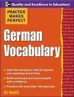 German Vocabulary by Ed Swick (Paperback, 2007)