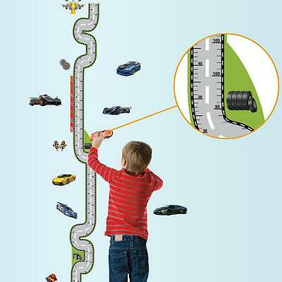 Car Height measurement Home Room Decor Removable Wall Stickers Decal Decorations