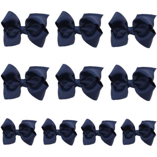 10 PCS Baby Hair Accessory Toddler Girl Hairpins Hair Clips Bows Ribbon Headwear