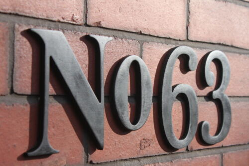 plastic house number plaque Large Numbers £3 Each
