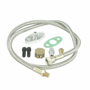 36-034-Braided-Stainless-Steel-Turbo-Charger-1-8-NPT-Fitting-Hose-Oil-Feed-Line-Kit