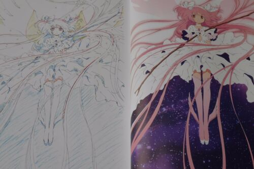 JAPAN Puella Magi Madoka Magica Book Only The Movie Key Animation note Extra