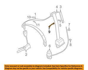 image is loading bmw-oem-01-06-325i-front-seat-belt-