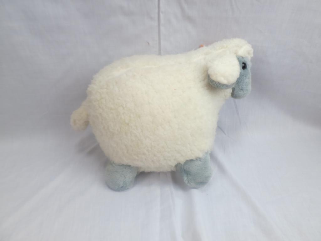 WALMART Weiß grau WOLLY SHEEP WOOLIE LAMB SOFT STANDING PLUSH STUFFED ANIMAL