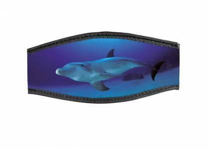 BestDivers Maskenband Überzug Meeressäuger mit Klett