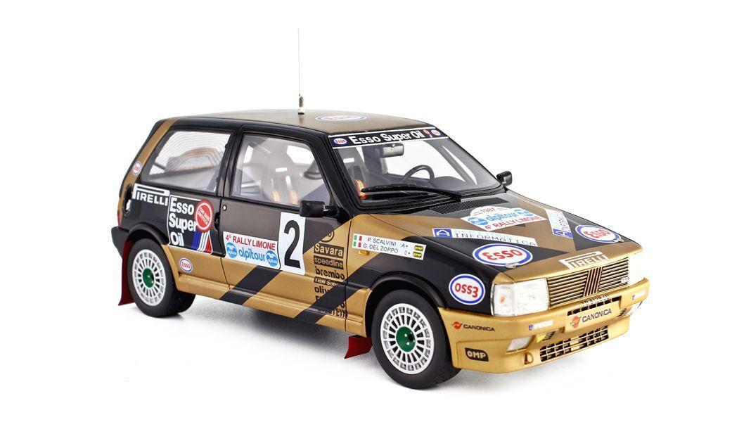 FIAT Uno Turbo i.e. GR.A Grifone Rallye Limone Del Zoppo Esso Laudoracing 1 18  | Schön und charmant