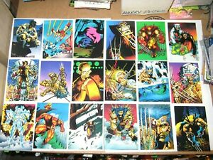 1992-WOLVERINE-FROM-THEN-TILL-NOW-SERIES-II-COMPLETE-90-CARD-SET-X-MEN