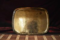 """Hand Hammered Brass Rectangle Tray 15 3/8""""x11 5/8"""""""
