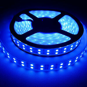 Dual double roll blue 5m 600leds 5050 led strip lights lamp image is loading dual double roll blue 5m 600leds 5050 led aloadofball Image collections