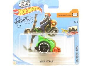 Hotwheels-Wheelie-Silla-Verde-FYB64-Tarjeta-Corta-HW-RIDE-Ons-1-escala-64-Sellado