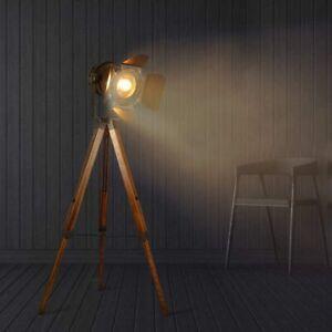 Industrial Floor Lamp For Living Room Adjustable Height Tripod Floor Lamp For Ebay