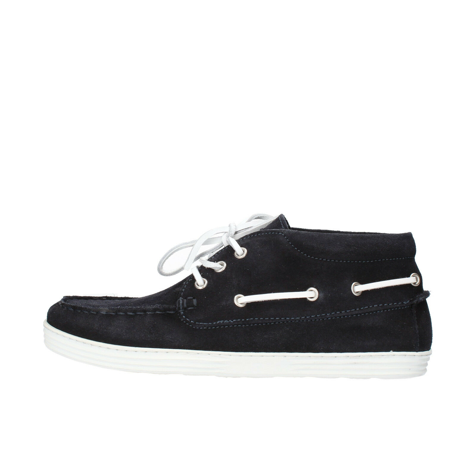 Mens shoes DOCKSTEPS 6 (EU 40) desert boots bluee suede AG845-B