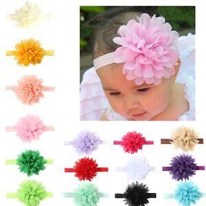 10Pcs-Newborn-Girls-Baby-Toddler-Chiffon-Flower-Kids-Hair-band-Headband-Headwear