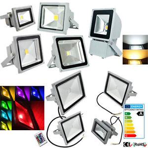 LED-Fluter-Aussen-Flutlicht-Strahler-Scheinwerfer-10W-20W-30W-50W-100W-Smd-IP65