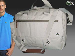 2a7810f5b4 ... Lacoste-Affaires-Style-Sacoche-Ordinateur-Portable-Sac-Neuf-