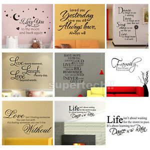 Hot-Sale-Art-Vinyl-Quotes-Removable-Wall-Stickers-Decal-Mural-home-Decor-Kids
