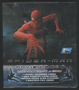 2002-Topps-SPIDER-MAN-Movie-Cards-Sealed-Hobby-Box