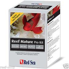 Red Sea MCP Reef Mature Pro Kit Bacto Start Nitro bac No3:Po4-X KH Coralline Gro