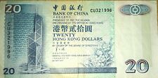 Bank of China 20 Hong Kong dollars
