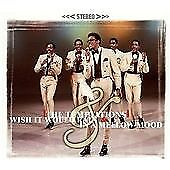 TEMPTATIONS I WISH IT WOULD RAIN & IN A MELLOW MOOD 2 MOTOWN ALBUMS ON 1CD EX