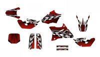 Yz85 Graphics 2002 - 2014 Yz 85 Dirt Bike Deco Kit 2500 Red Customizable