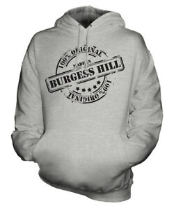 Burgess Womens Hill Christmas Hoodie Unisex Ladies Birthday In Gift Made Mens ZYHq55