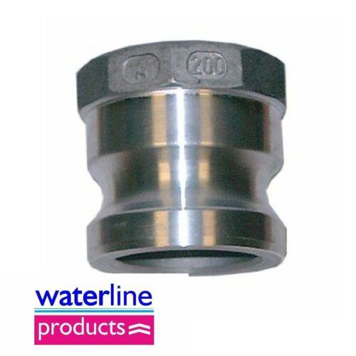 Male x Female Thread Type A Aluminium Camlock Coupler/Cam&Grove Coupling
