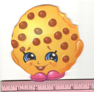 Image Is Loading SHOPKINS Quirky KOOKY COOKIE Fabric Iron On Applique