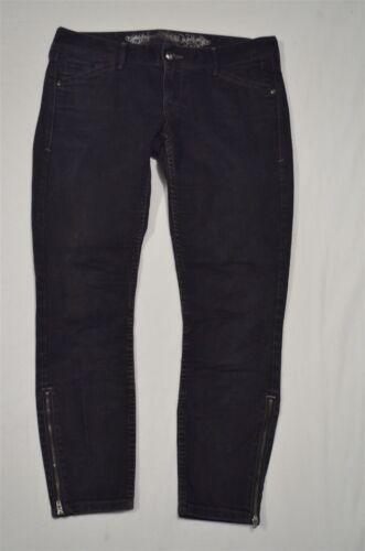legging noir basse Jeans extensible court et denim taille en ultra et avec à zippées poches leggings wxxSzfq
