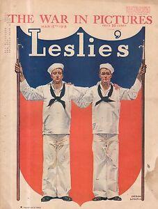 1918-Leslie-039-s-March-16-Hog-Island-Yama-Yama-Division-William-P-Kennedy