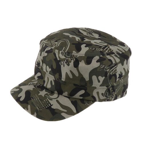 Herren Camo Cap Camouflage Army Combat Soldat Patrol Hut Baseballmütze