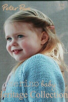 Peter Pan Fashion collection baby knitting pattern booklet 277