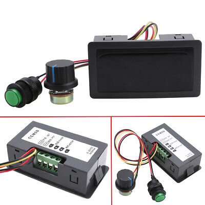 DC 6-30V 12V 24V MAX 8A Motor PWM Speed Controller With Digital Display Switch /%