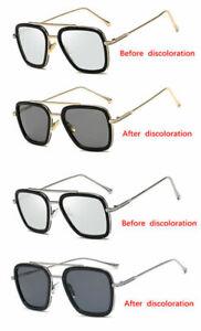 Iron Man Edith Glasses Cosplay Tony Polarized Color Changing Sunglasses Fashion Ebay Buy trendiest eyeglasses with prescription lenses. details about iron man edith glasses cosplay tony polarized color changing sunglasses fashion