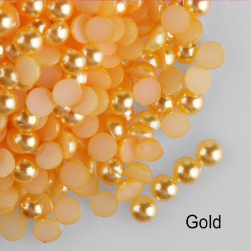 perlen scrapbooking verschönerung nachgemachte perle kleidung flatback acryl